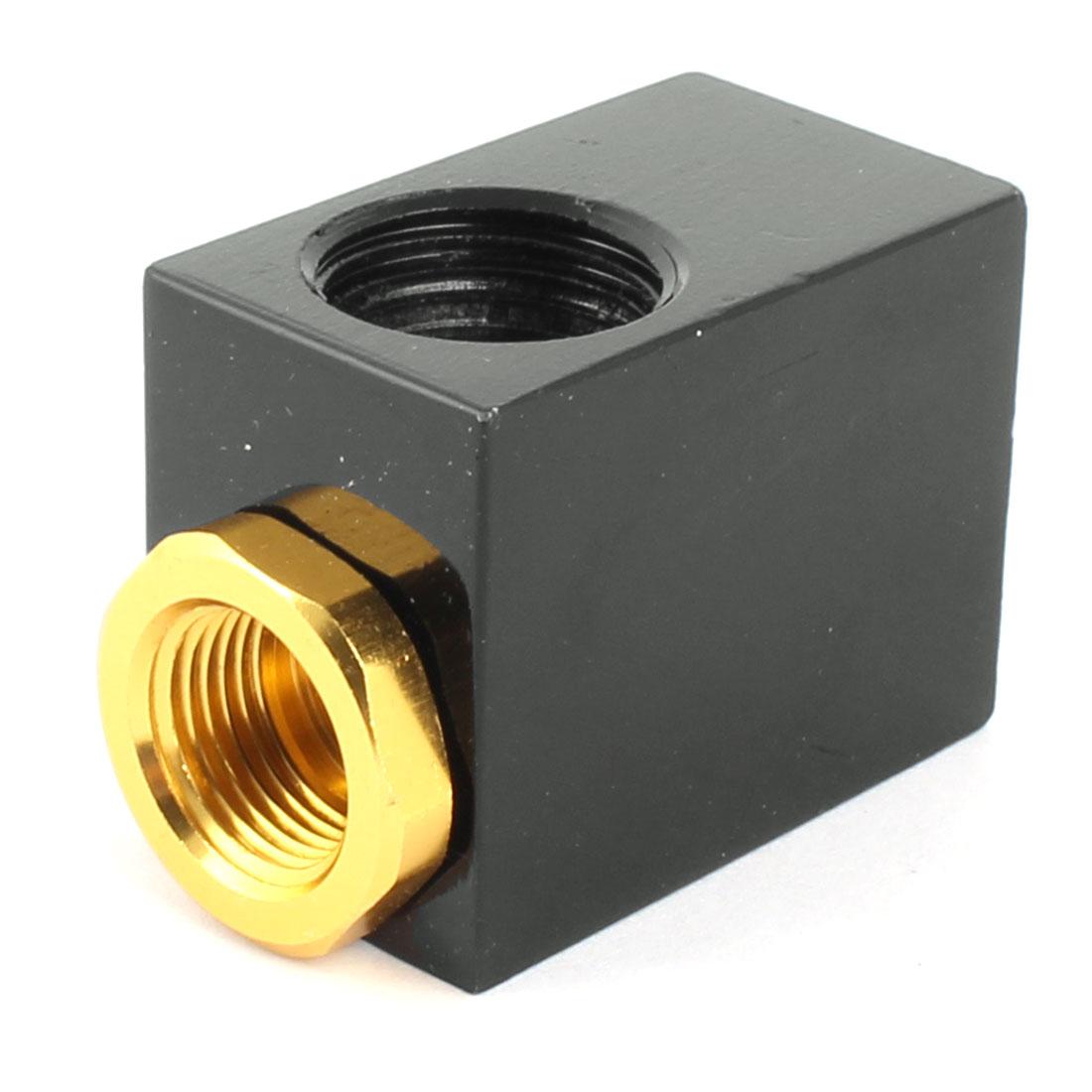 "Pneumatic QE-04 1/2BSP 3/4"" 19mm Inlet 2 Ports Air Quick Exhaust Valve"