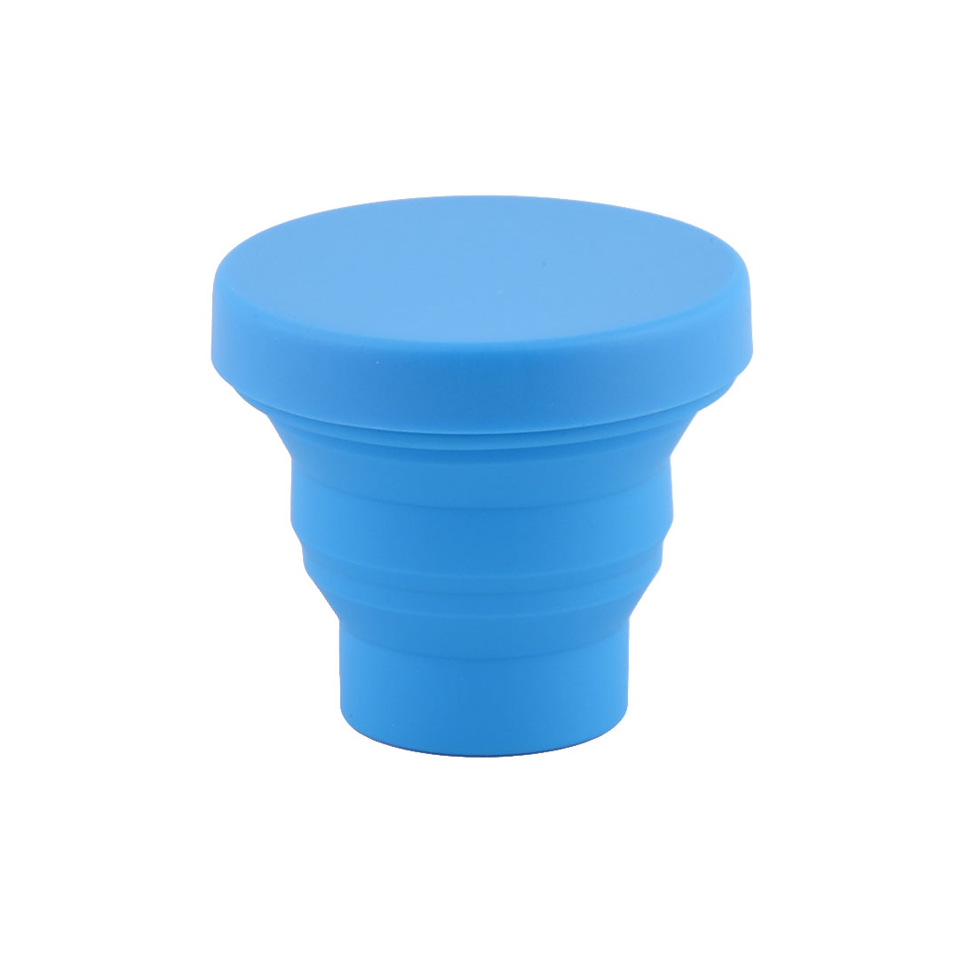 Travel Camping Silicone Folding Water Cup Telescopic Collapsible Bottle Lid 95ml