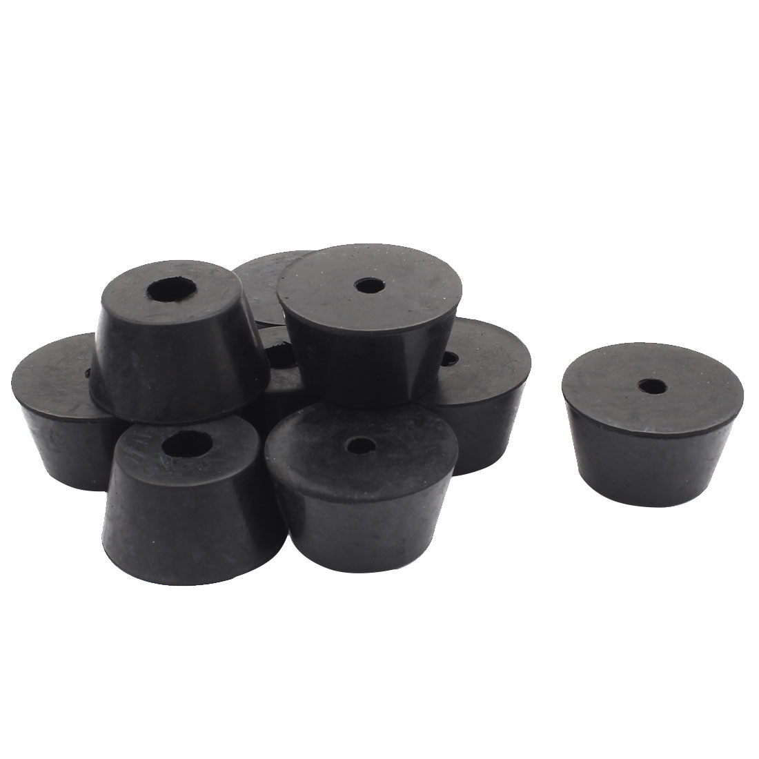 Rubber Cover Speaker Furniture Table Chair Feet Pad 40mm x 30mm x 22mm 9PCS