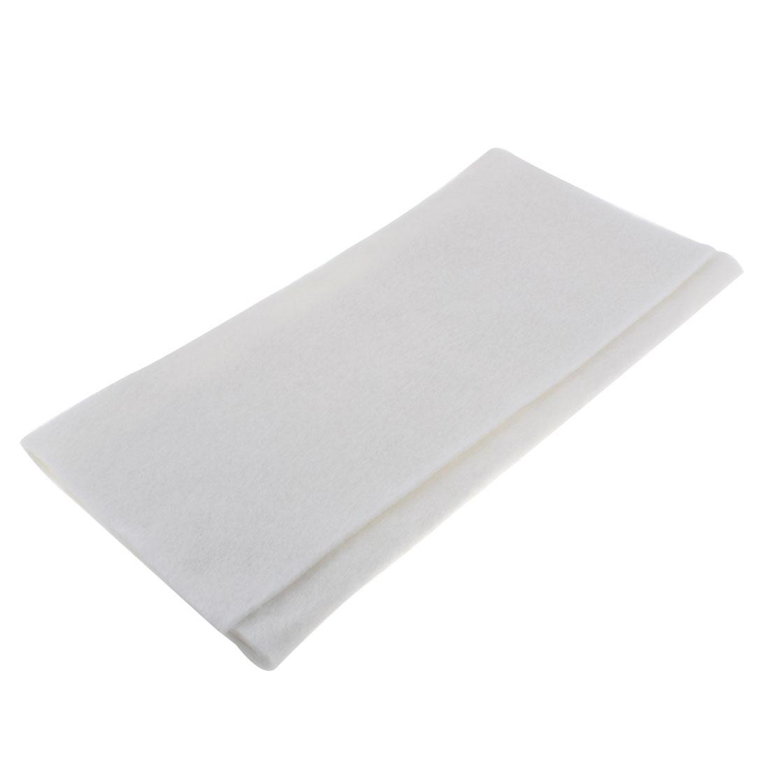 Aquarium Fish Tank Biological Filter Foam Block Sponge Pad White 59 x 40 x 0.3cm