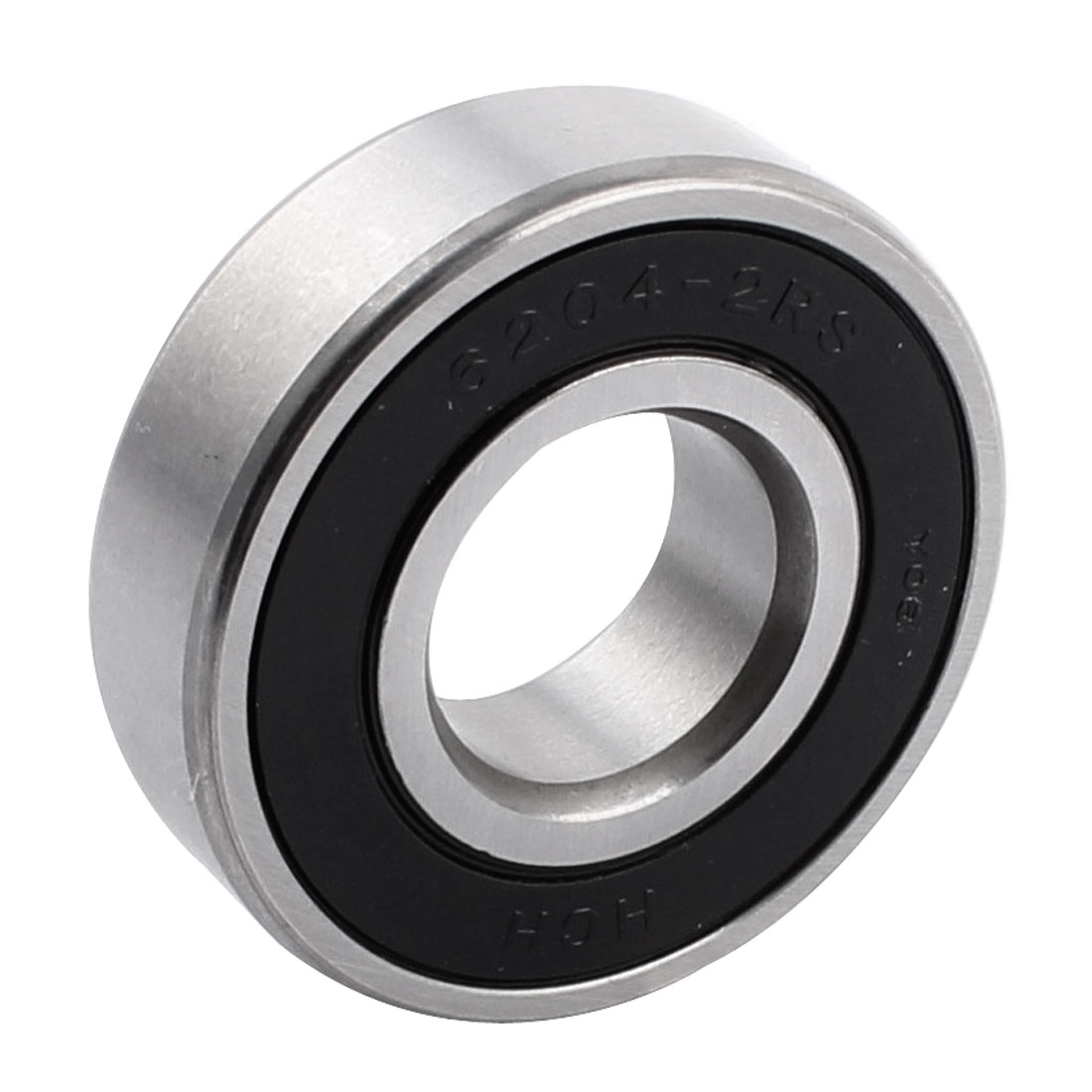 47mm x 20mm x 14mm 6204-2RS Sealing Rubber Groove Ball Wheel Bearings