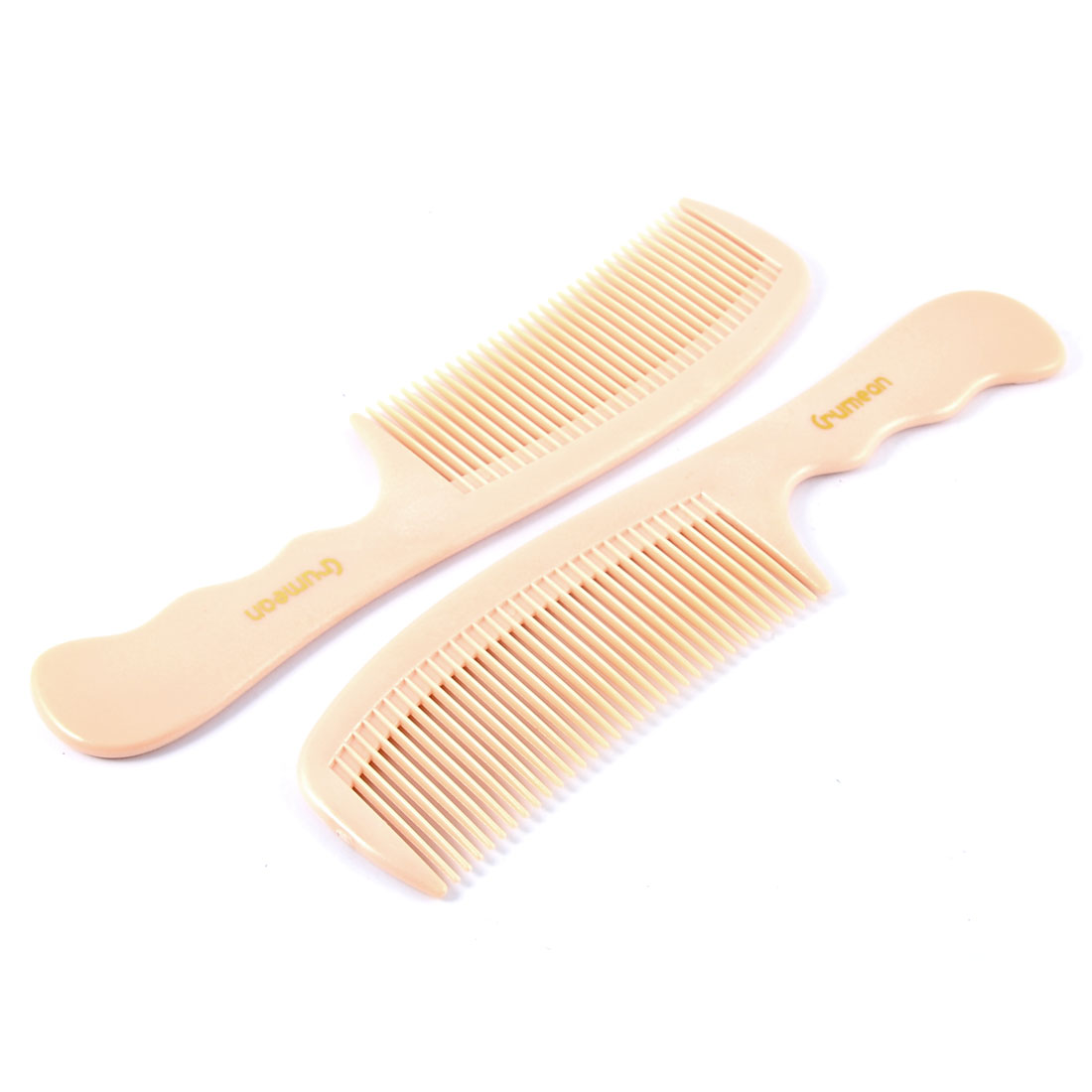 Hairdressing Salon Styling Hairstyle Hair Comb Beauty Tool Light Pink 2PCS