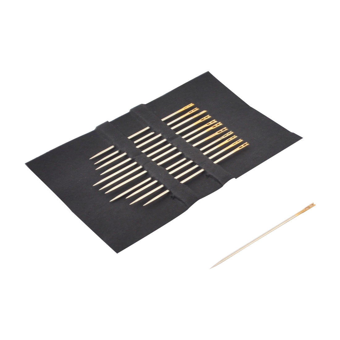 Home Sewing Machine Knitters Hand Embroidery Metal Threading Needles 12pcs