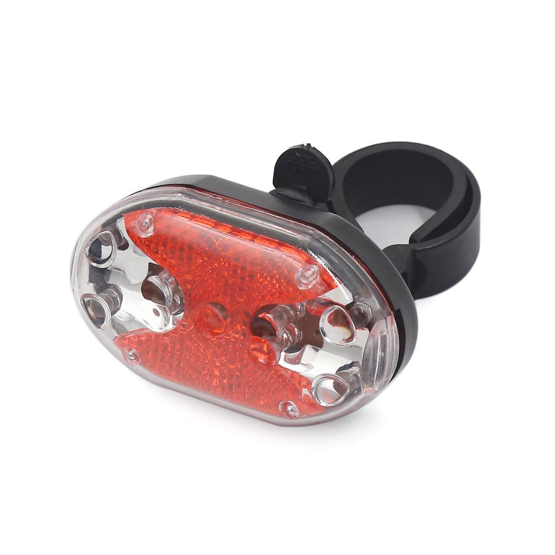 Cycling Bicycle Bike Red 9 LEDs Flashing Rear Warning Safety Tail Light Lamp