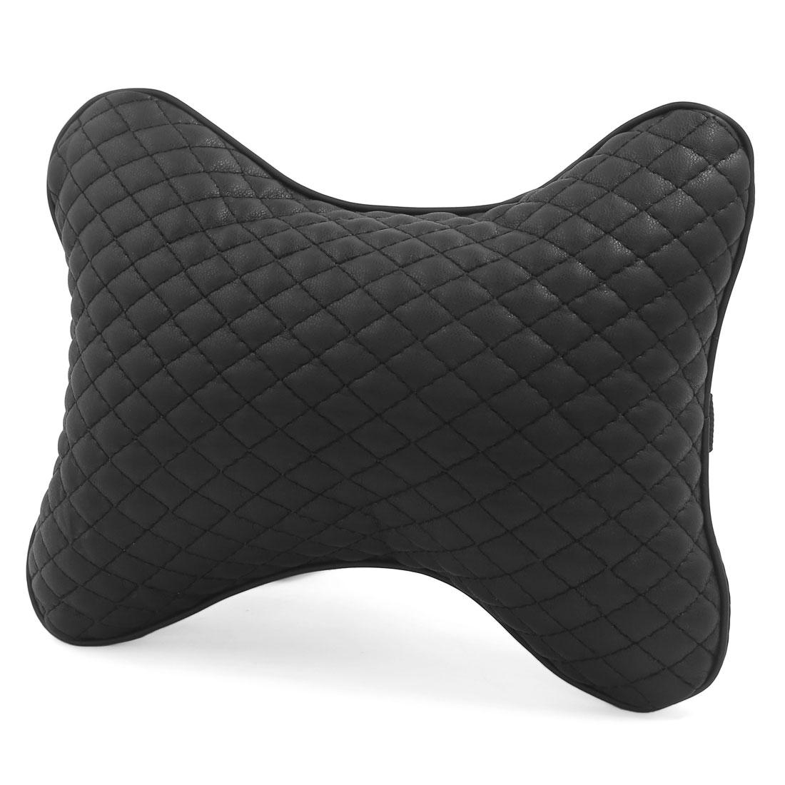 Black Car Vehicle Auto Seat Head Neck Rest Cushion Pad Headrest Pillow