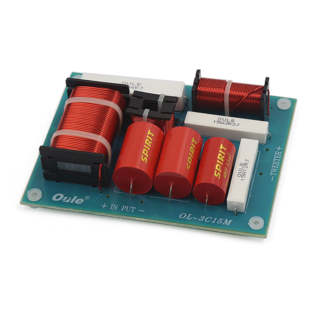 Multi Speaker Frequency Divider 3-Way Audio Crossover Filters for Car Vehicle