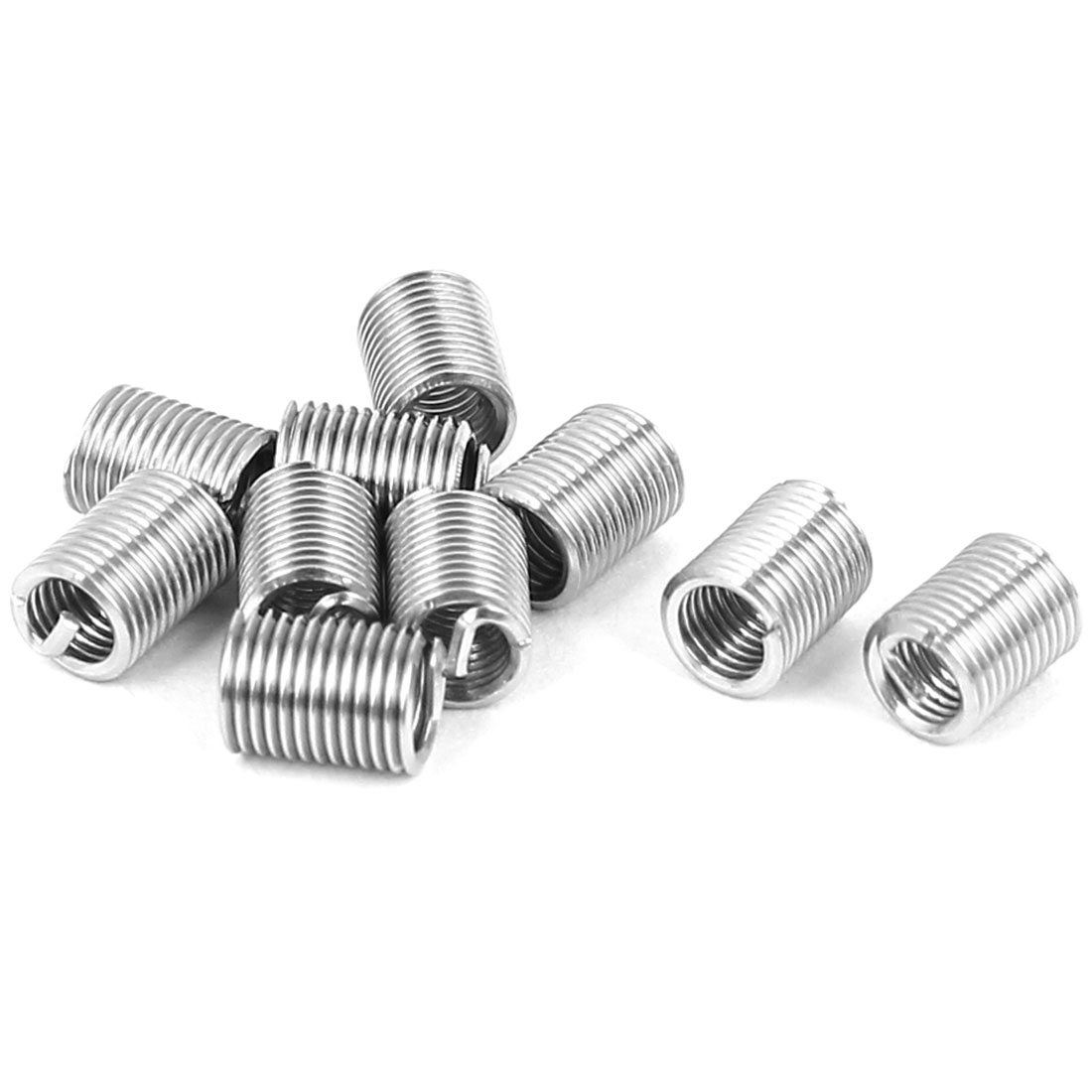 V-Coil Helical Wire Thread Repair Inserts 10pcs for M2.5 x 0.45mm x 3D