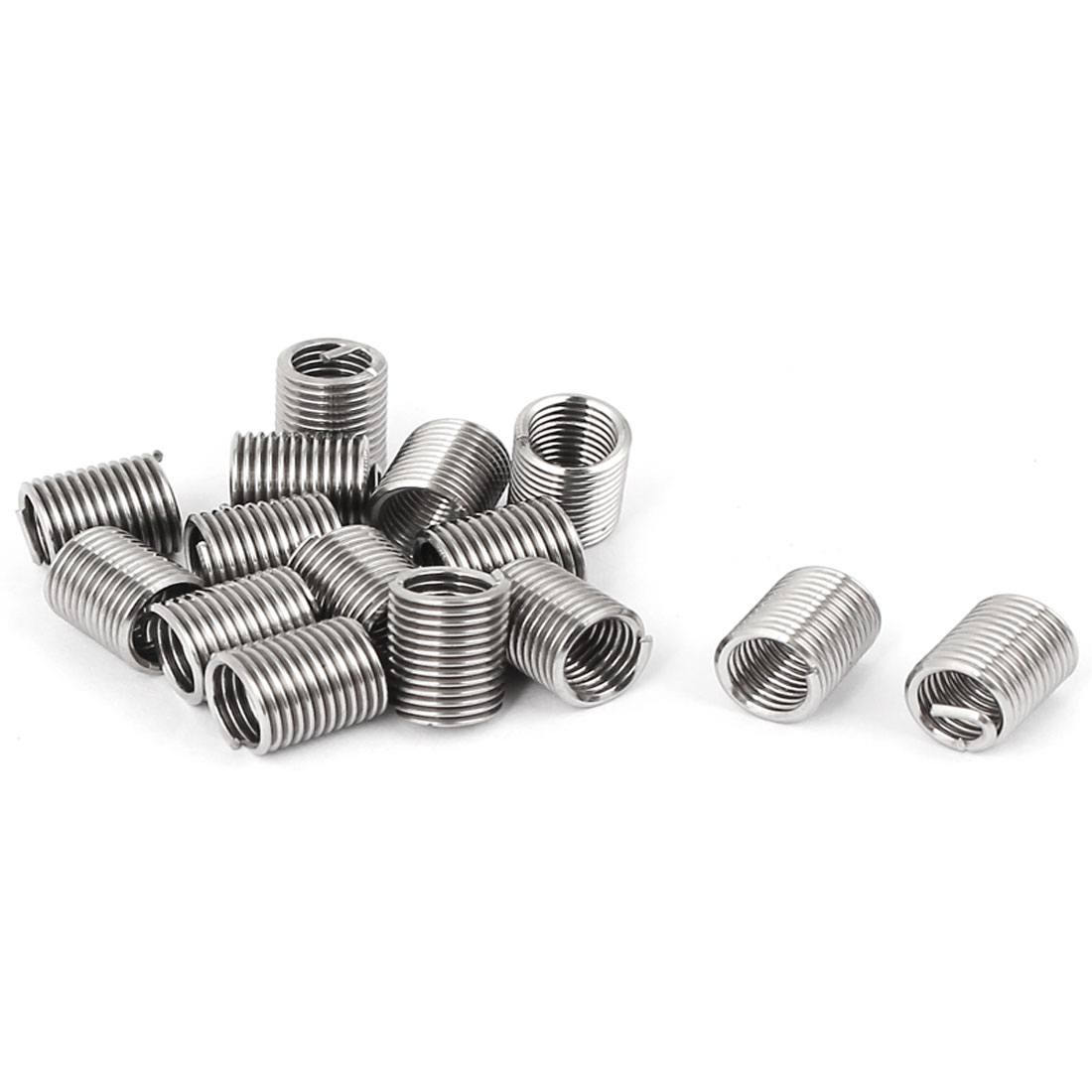 M5x0.8mmx2.5D Stainless Steel Helicoil Wire Thread Repair Inserts 15pcs