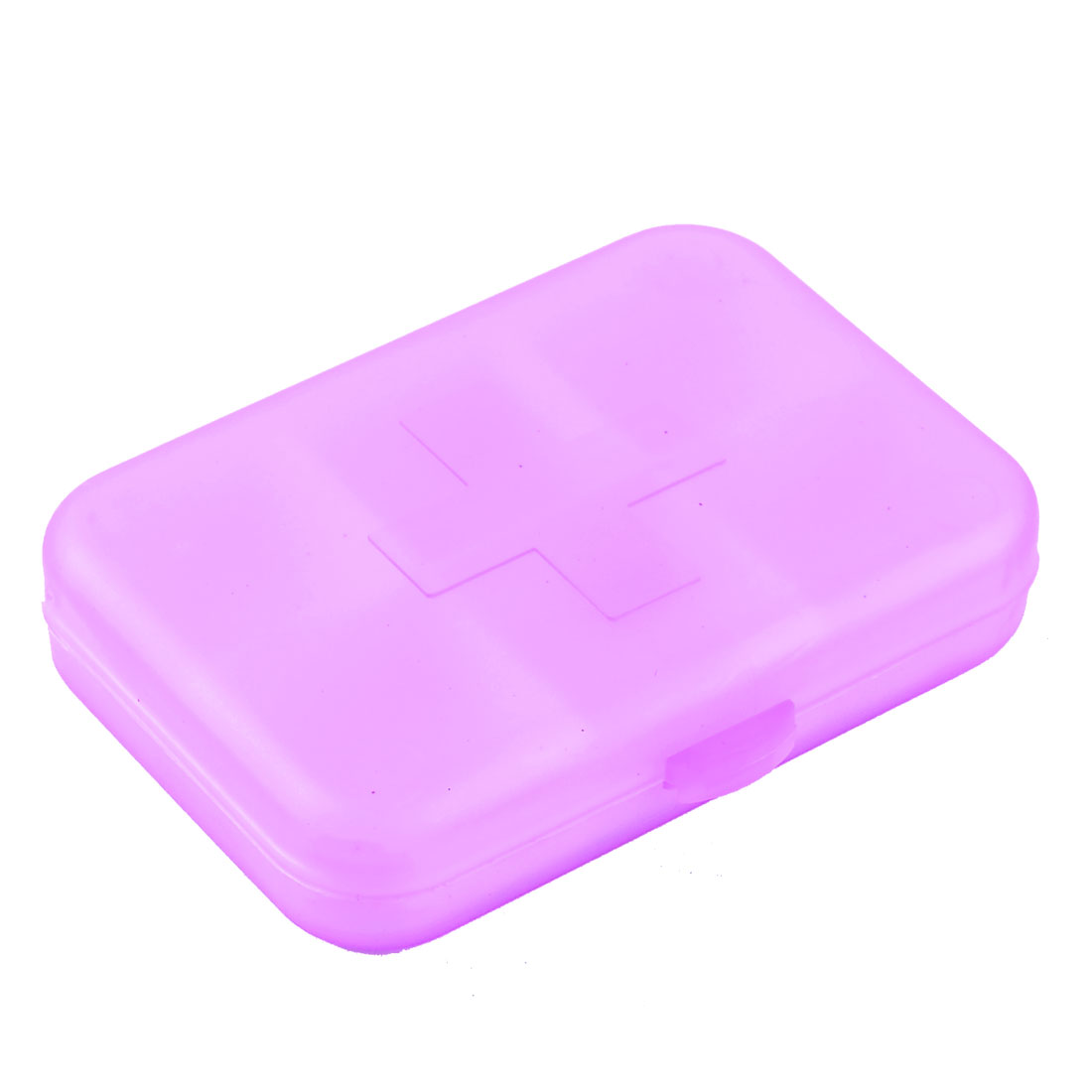 Travel Medicine Pill Collection Plastic Storage Case Box Holder Purple