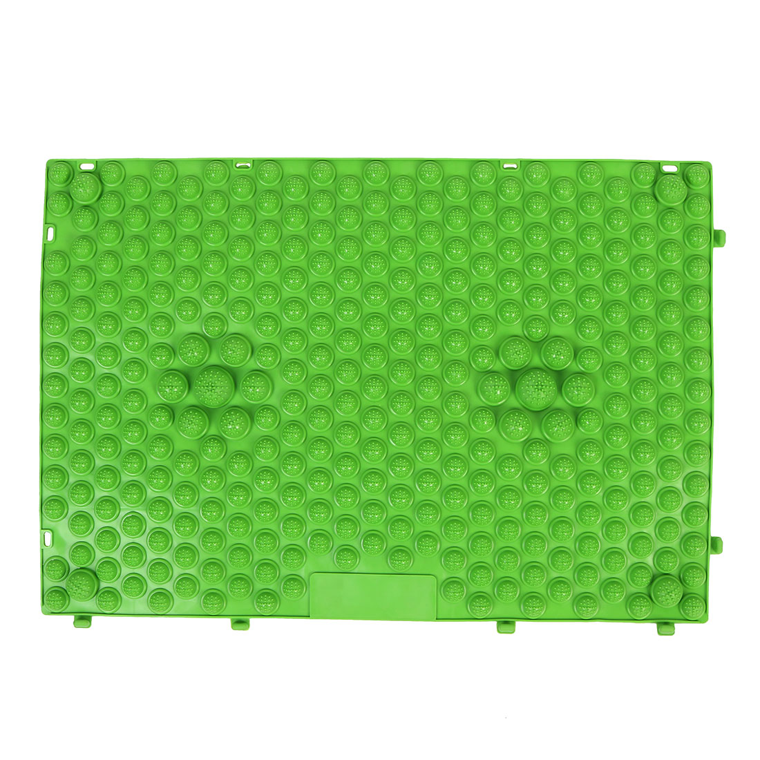 Outdoor Leisure Game Rubber Acupuncture Foot Massage Mat Shiatsu Sheet Green