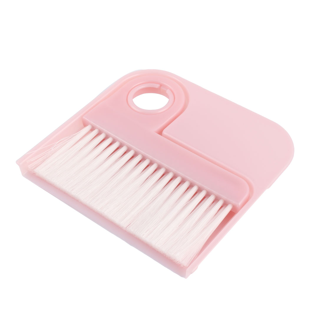 Restaurant Kitchenware Table Crumbs Mini Cleaning Broom Dustpan Set Pink