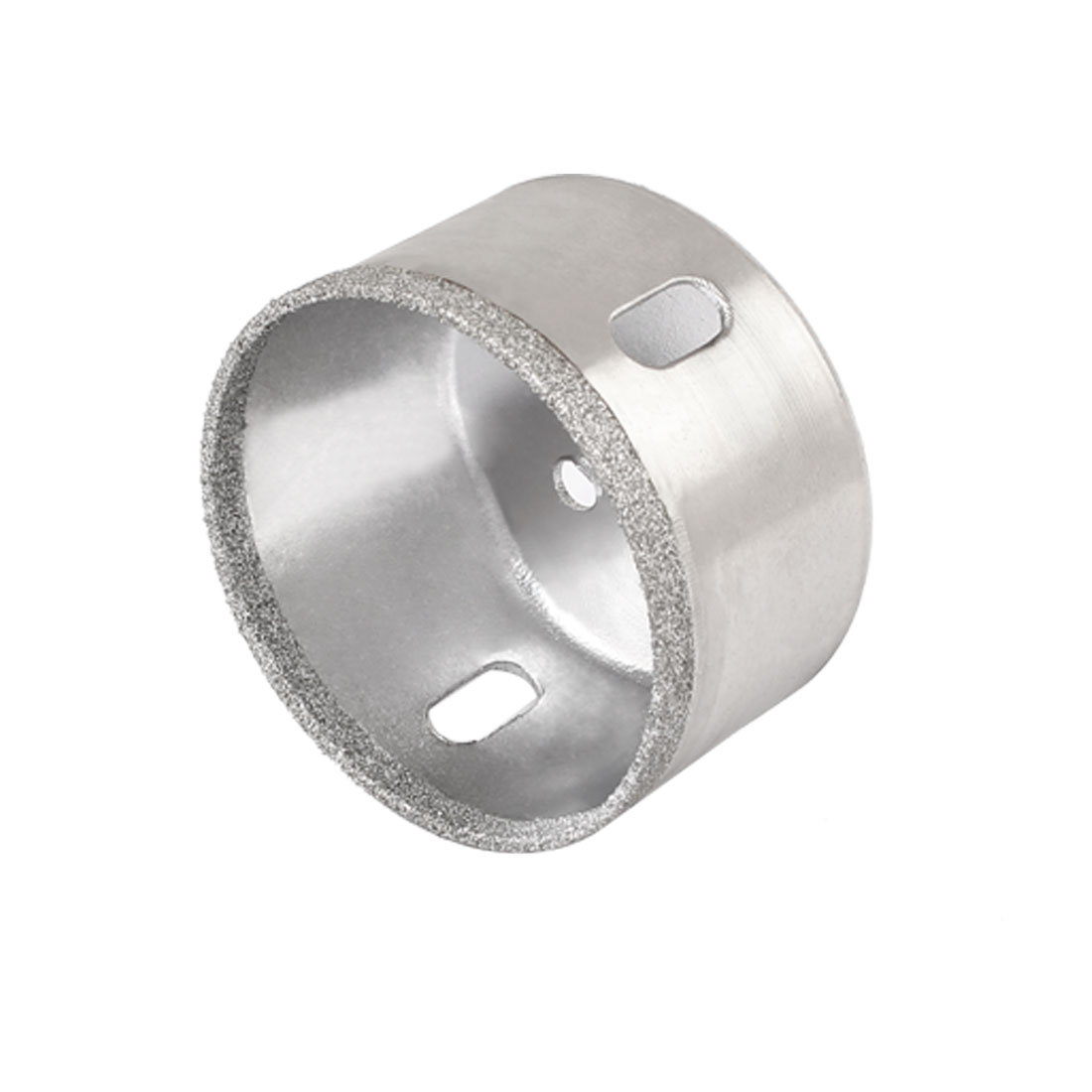 Diamond Tipped Round Shank 53mm Diameter Marble Drilling Hole Saw Tool