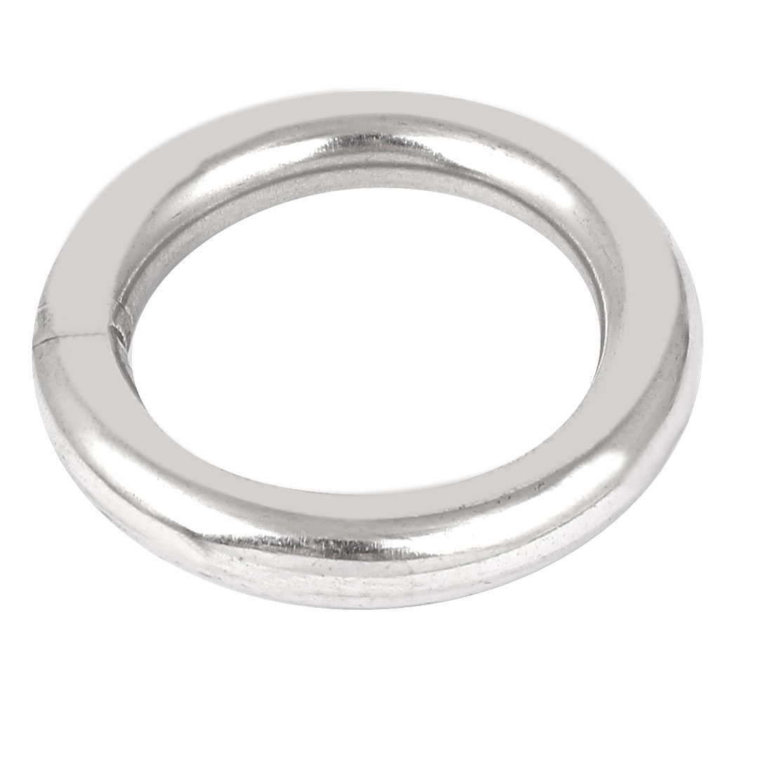 M10 x 60mm 201 Stainless Steel Webbing Strapping Welded O Rings