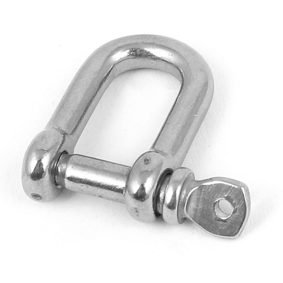Ships Connecting Link Fitting Wire Rope Bow D Shackle 5mm Male Thread