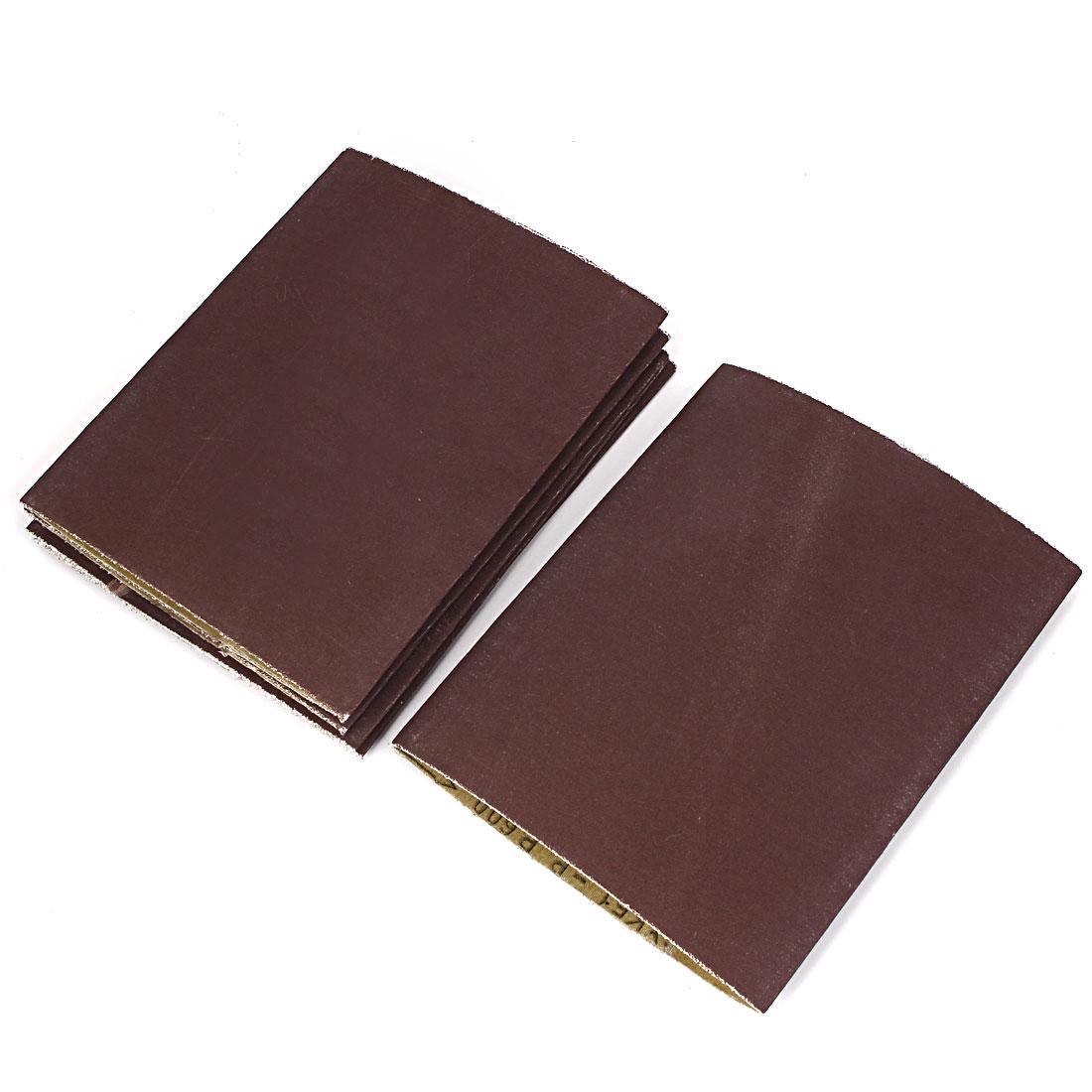 Woodworking 340mmx210mm 600 Grit Abrasive Sanding Belt Sandpaper 6pcs
