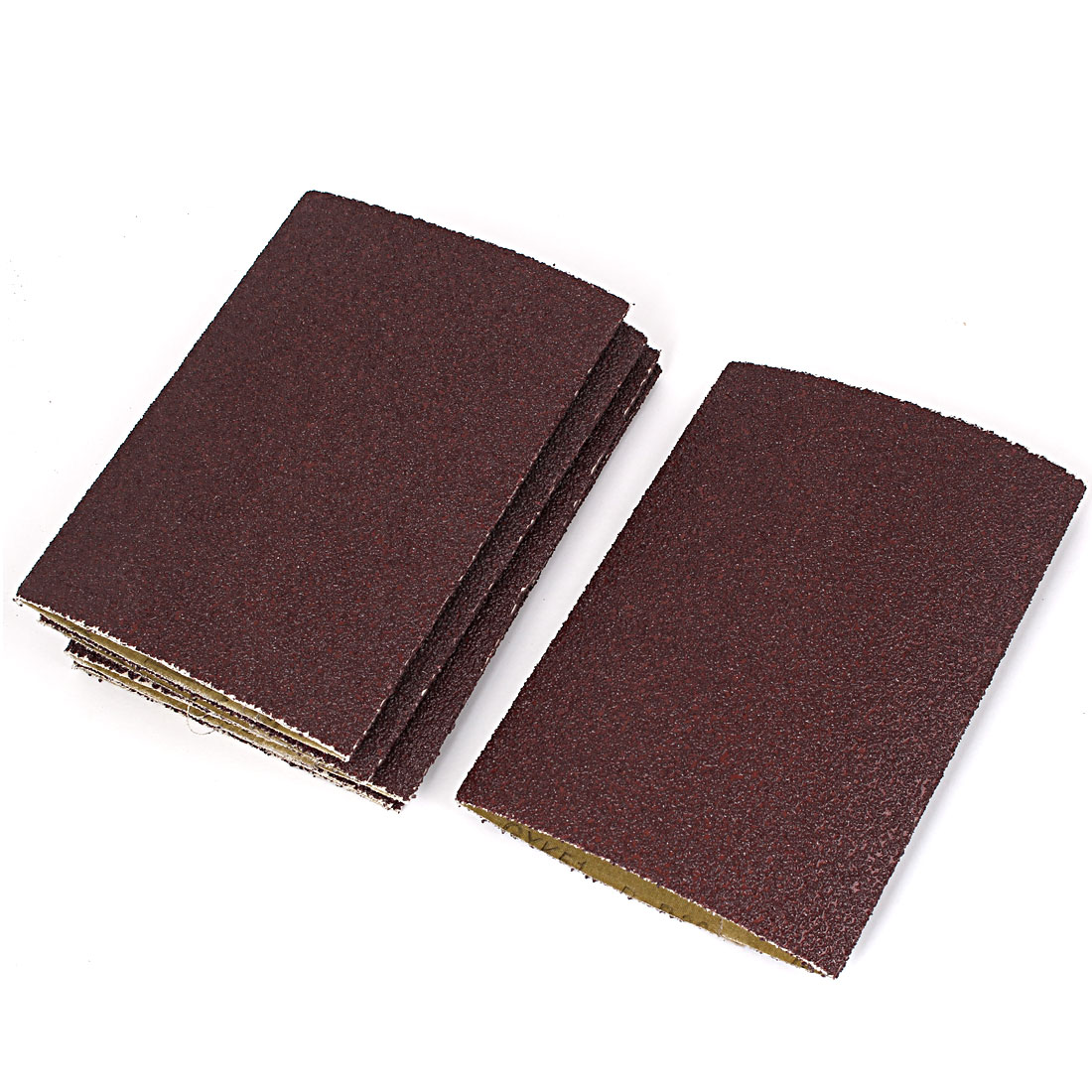 Woodworking 340mmx230mm 80 Grit Abrasive Sanding Belt Sandpaper 6pcs