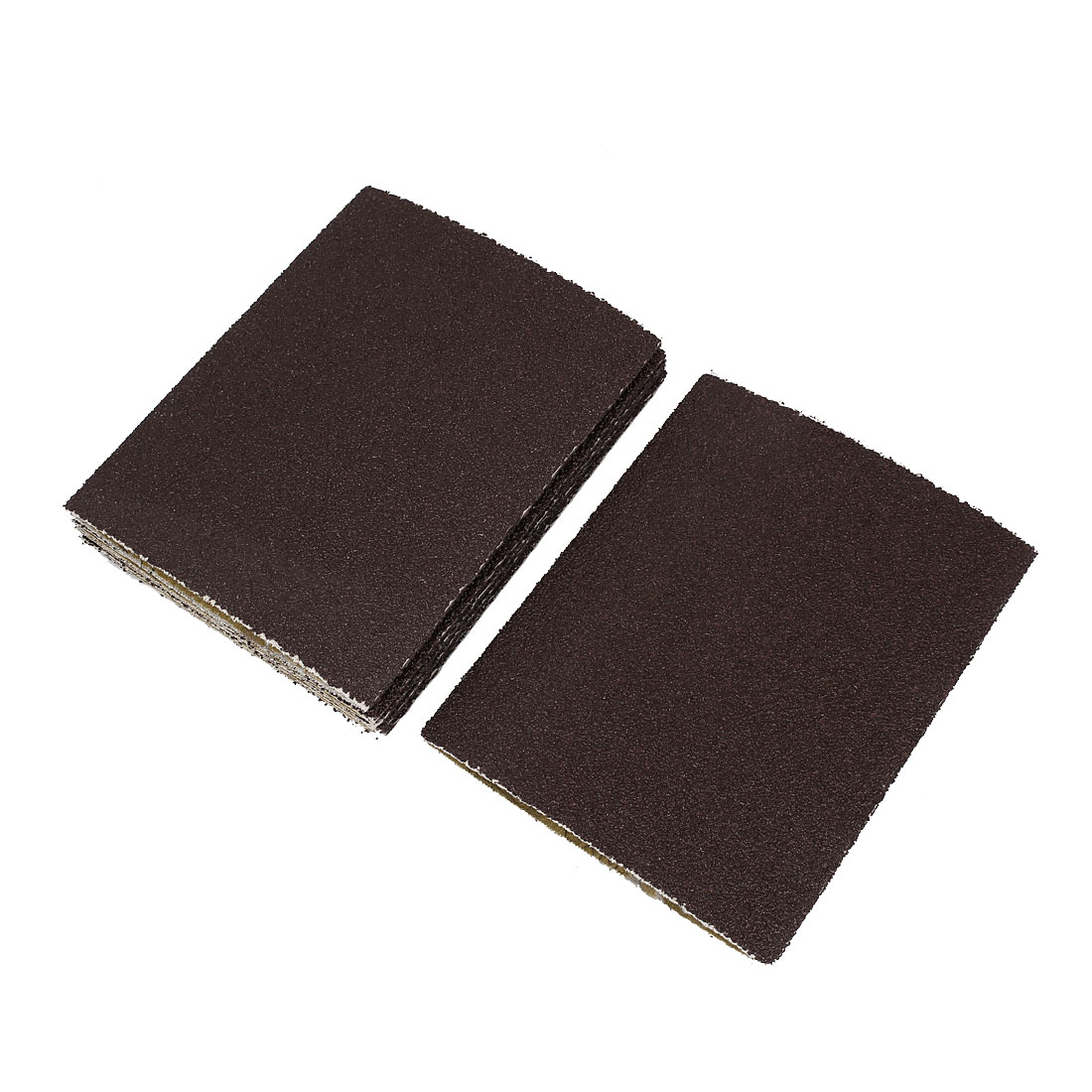 Woodworking 340mmx210mm 36 Grit Abrasive Sanding Belt Sandpaper 6pcs