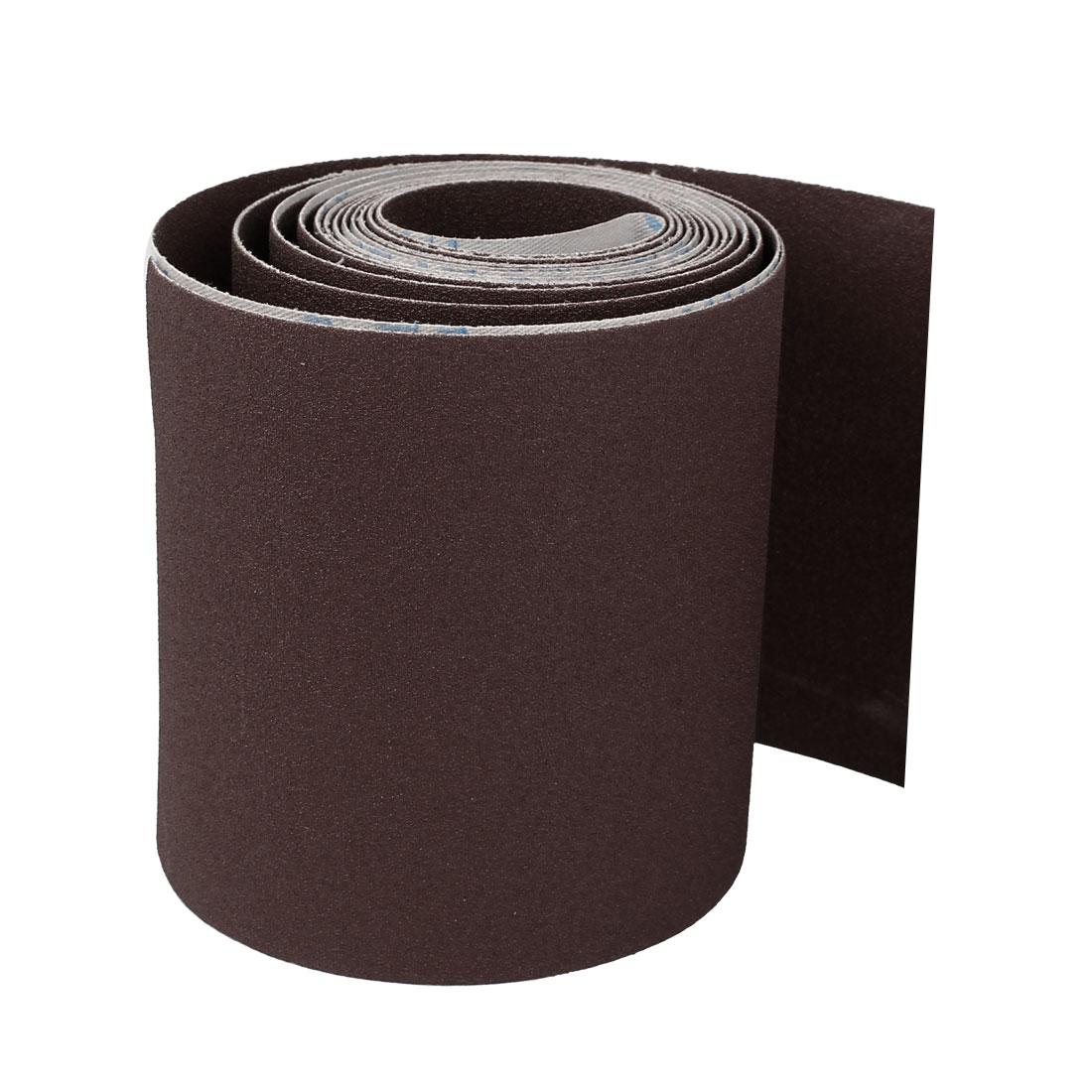5M Long 115mm Width 100 Grit Abrasive Sanding Sand Paper Sandpaper