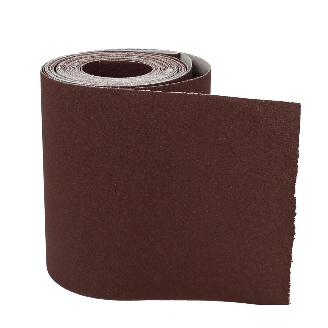 5M Long 115mm Width 240 Grit Abrasive Sanding Sand Paper Sandpaper
