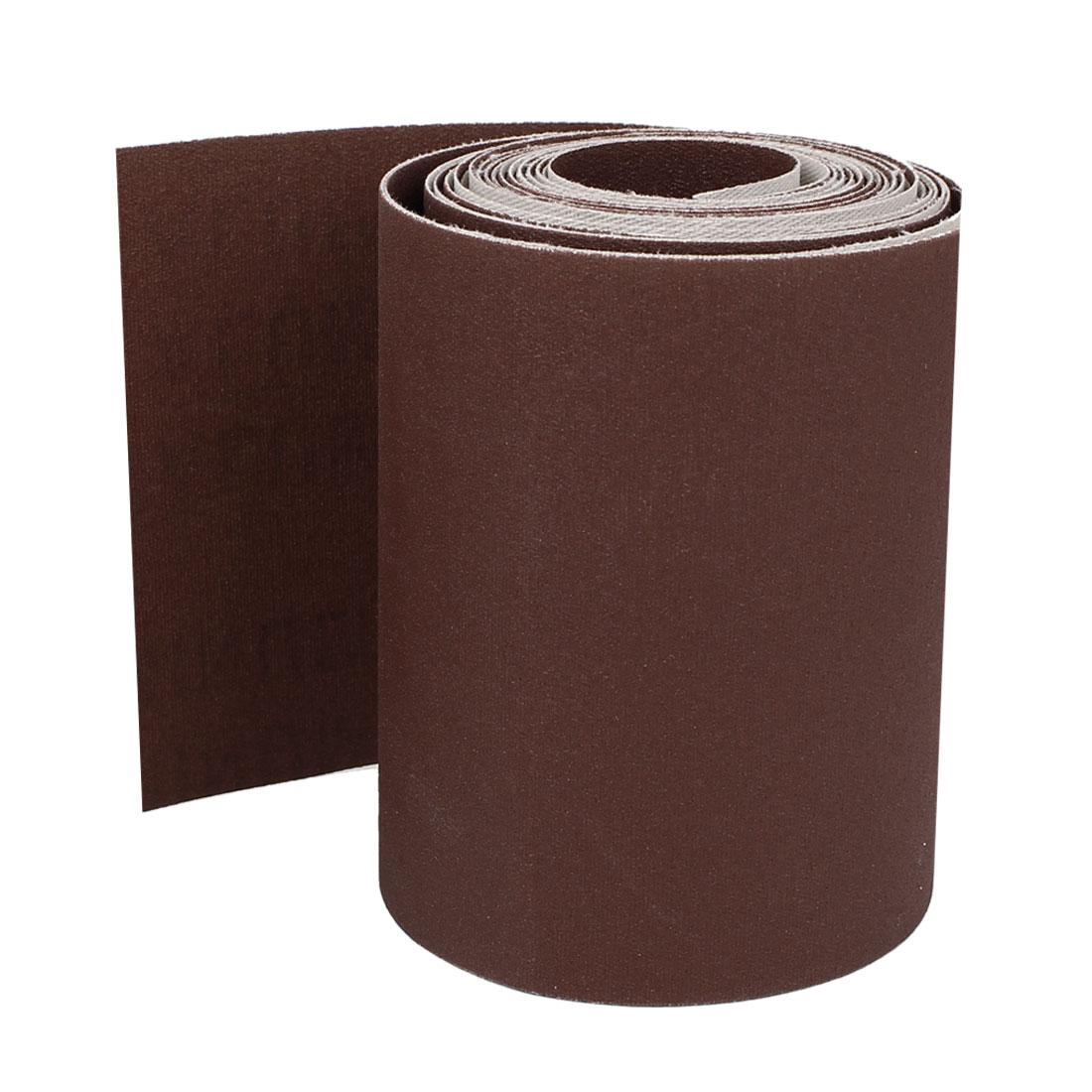 5M Long 100mm Width 320 Grit Abrasive Sanding Sand Paper Sandpaper