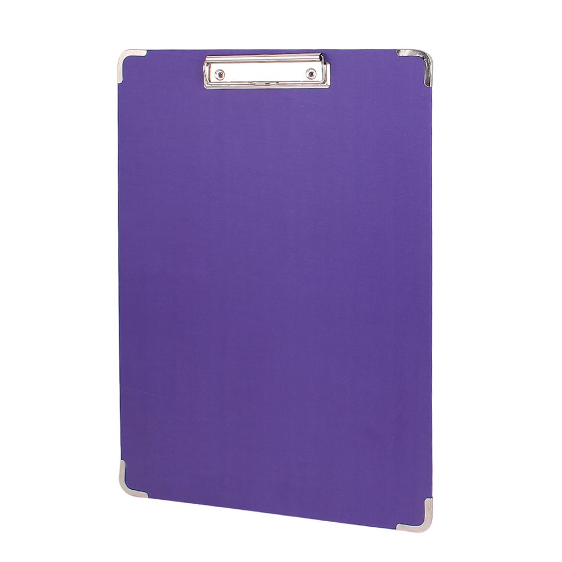 40cmx28cm Painting Art Sketch Board Holder Hardboard Clipboard Purple w Low Clip