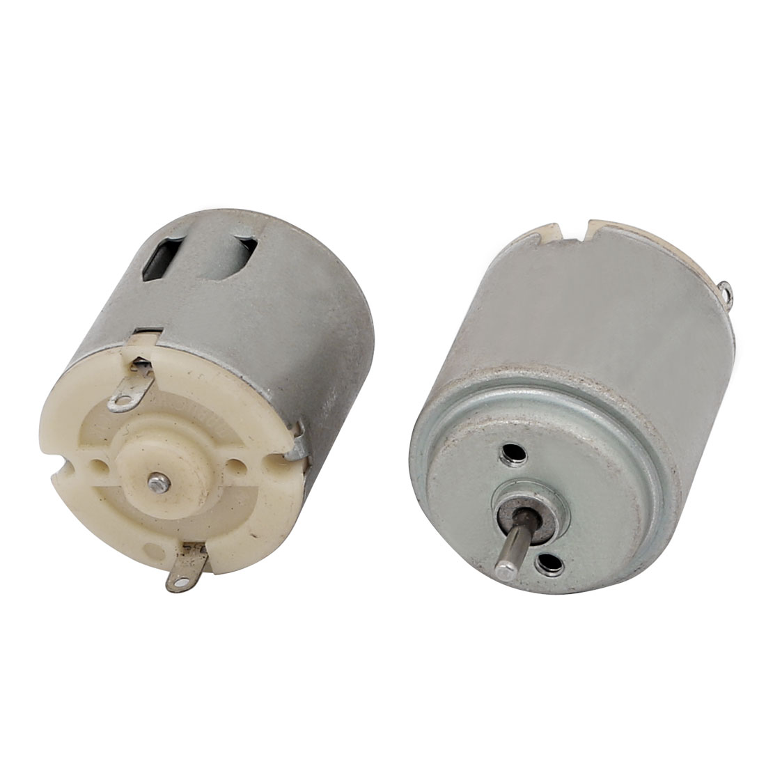 2pcs DC3-6V 4000RPM Mini Electric Motor 2Terminal Connector for Electrical Tools