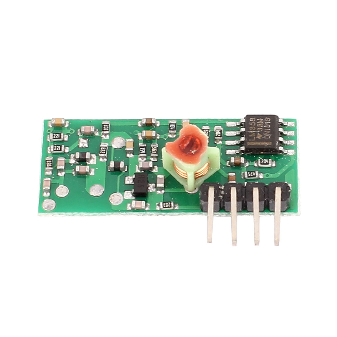 433MHz RF Superregeneration Receiver Module Kit for ARM MCU Wireless