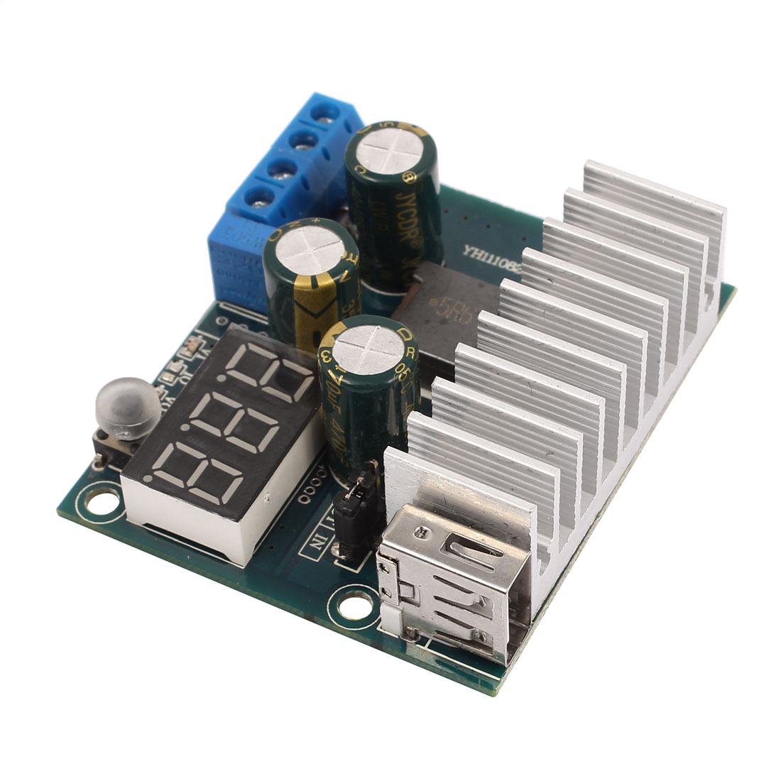 DC 3-35V To DC 3-35V Stable Step-up Module With Digital LED Display