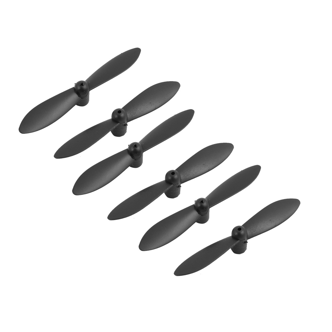 3A+3B Propeller Blades for MJX X901 X900 Six Axis Aircraft Set 6Pcs Black