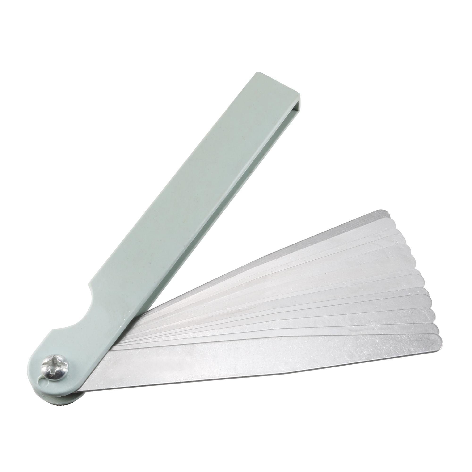 "100B-14 4"" Long 0.05-1.00mm Thickness 14 Leave Measuring Tool Feeler Gauge"