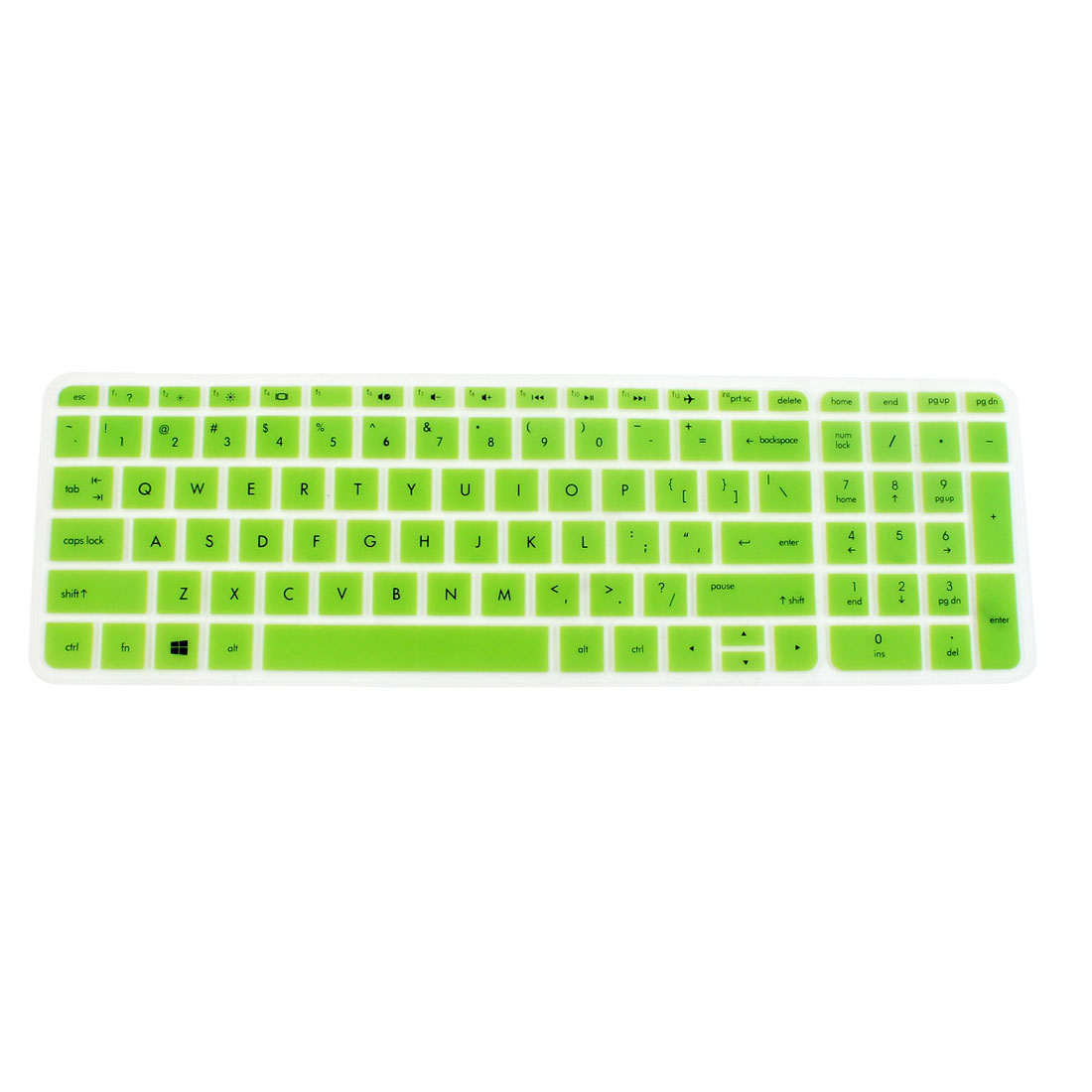 Anti-Dust Keyboard Protector Skin Film Cover Green for HP Pavilion 15 Laptop