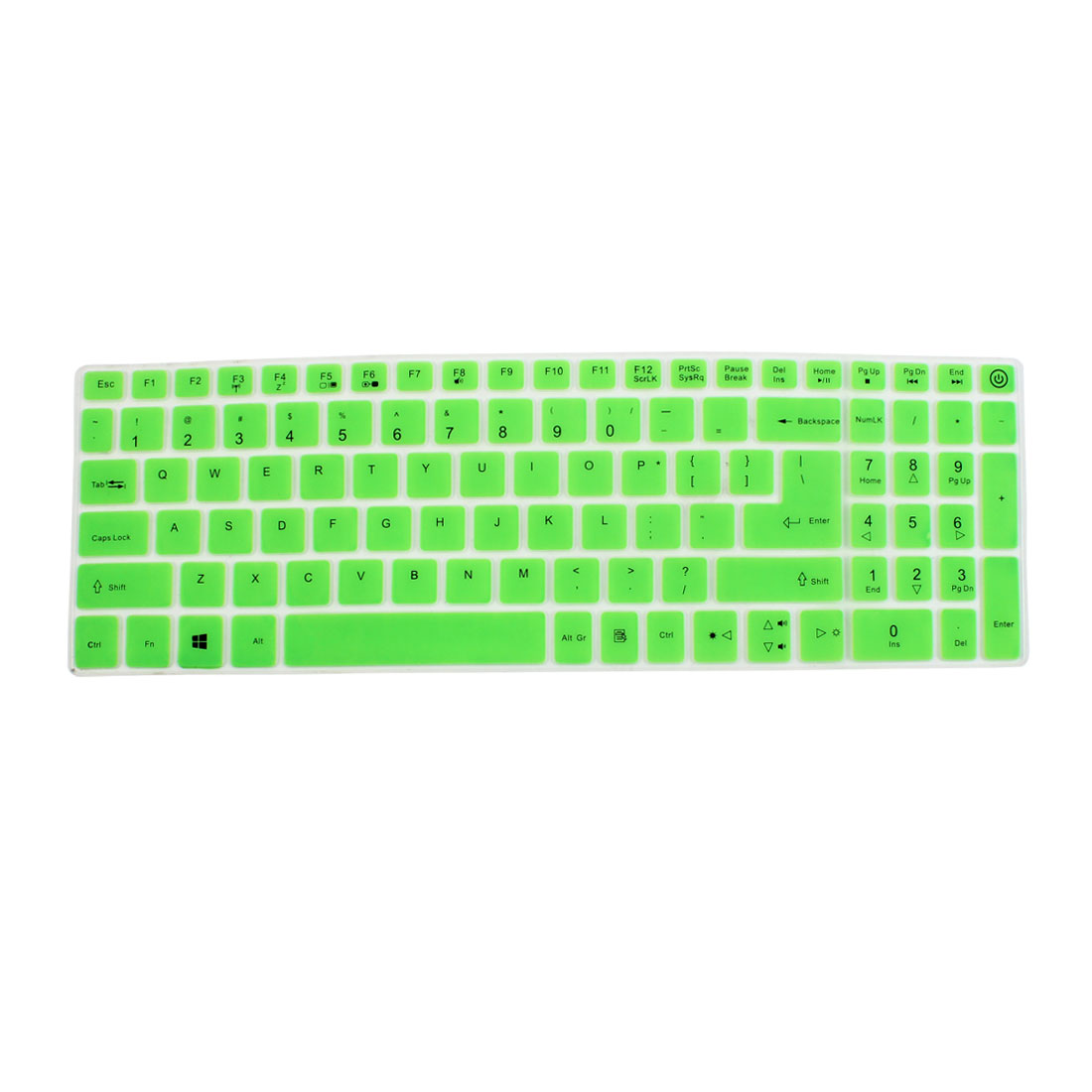 Notebook Laptop Keyboard Protector Skin Film Cover Green for Acer E5-573