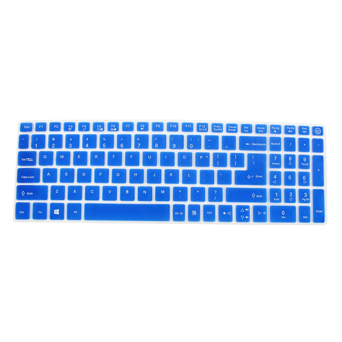 Notebook Laptop Keyboard Protector Skin Film Cover Blue for Acer E5-573