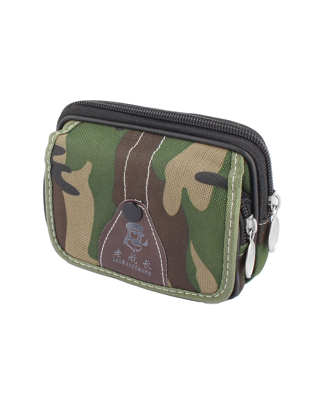 Camouflage Pattern Cell Phone Coin Waist Pocket Pouch Purse Wallet Pack Bag