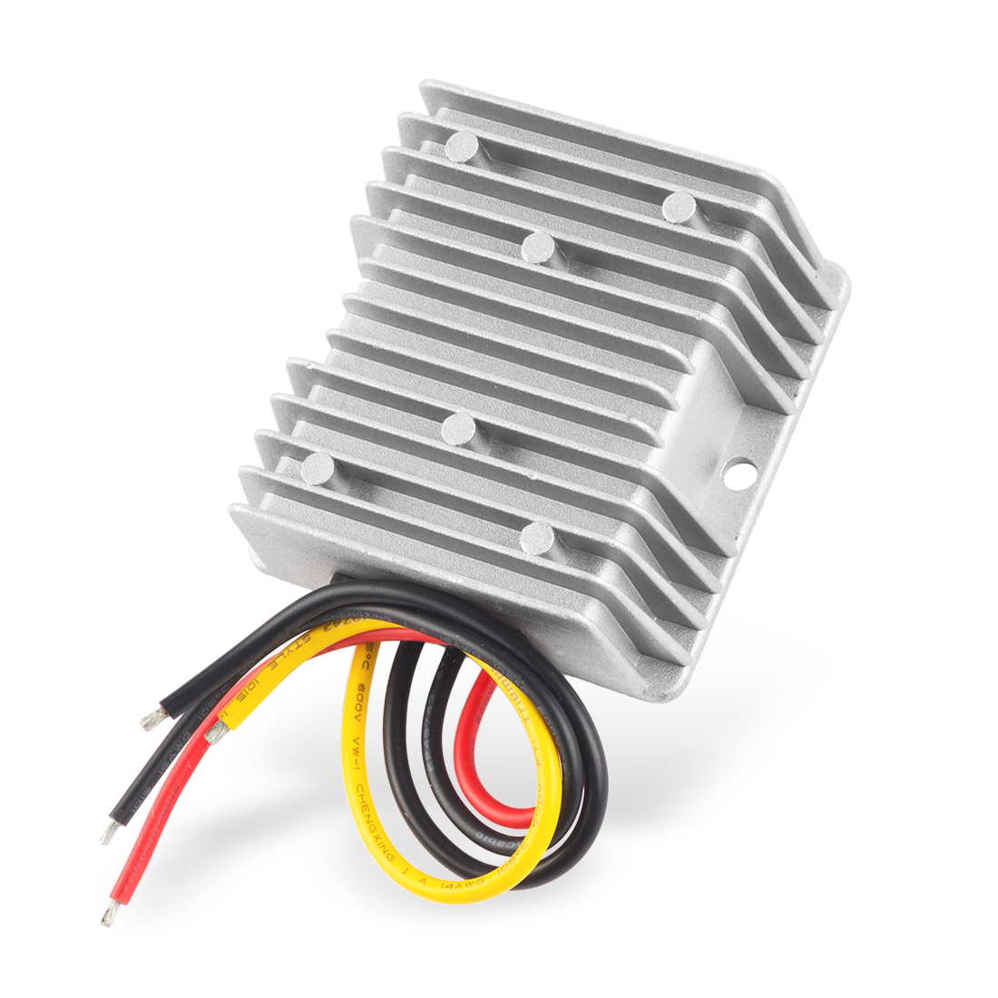 uxcell Power Converter Regulator DC36V(20V~60V) Step-Down to DC12V 15A 180W Waterproof Voltage Convert Transformer