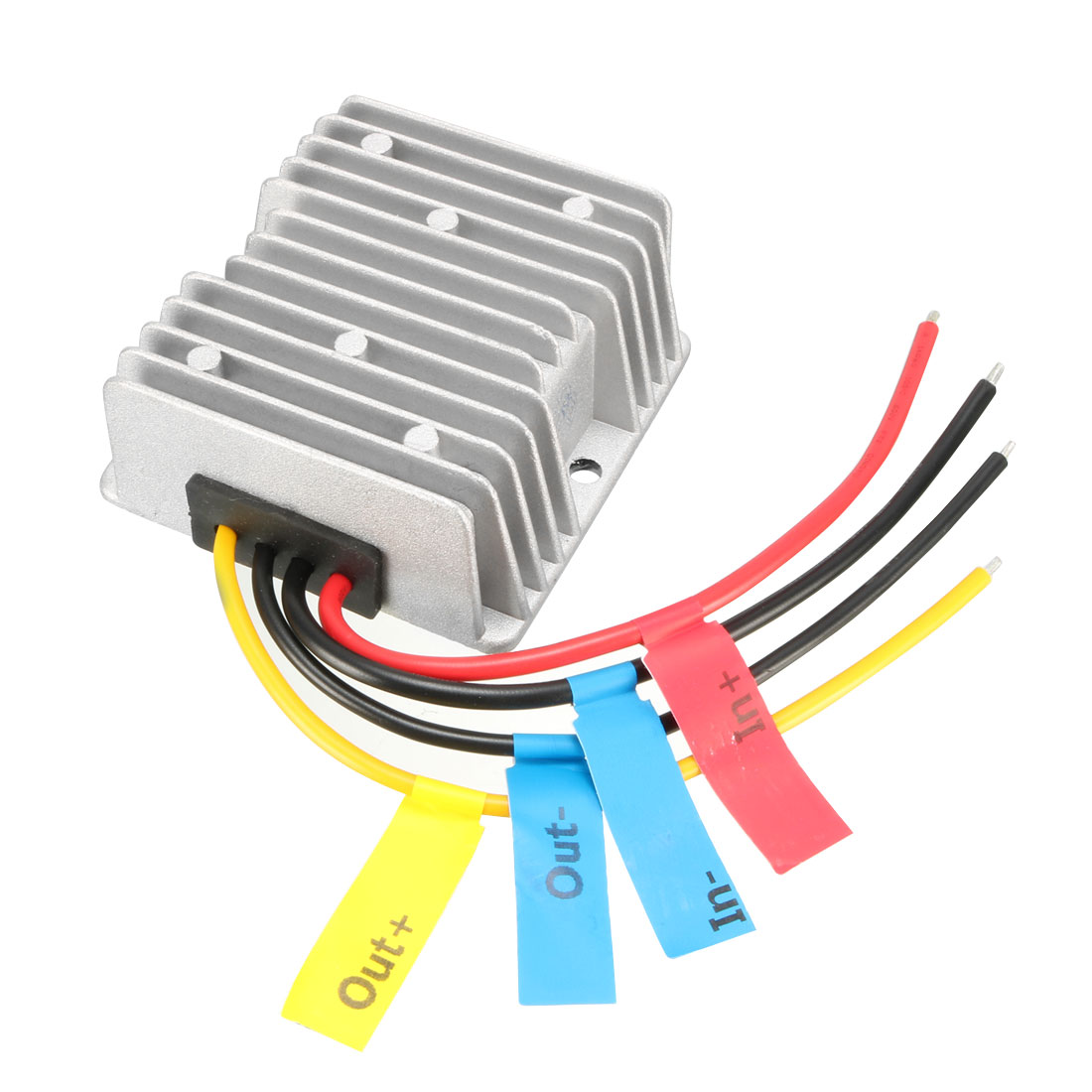 uxcell Power Converter Regulator DC12V(10V~16V) Step-Up to DC48V 3A 144W Waterproof Voltage Convert Transformer