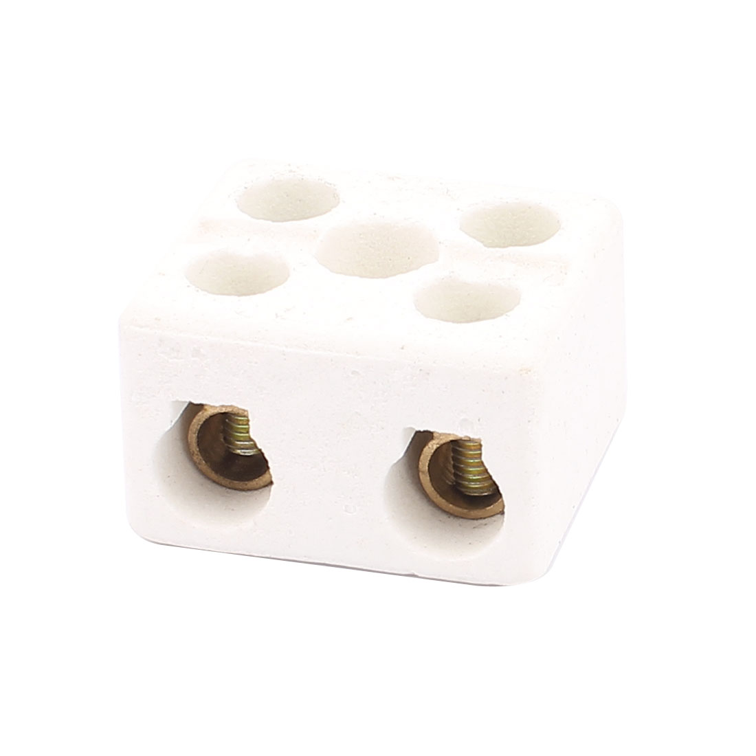 Cable Connector 2 Position 2 Row Ceramic Terminal Block 220V 30A