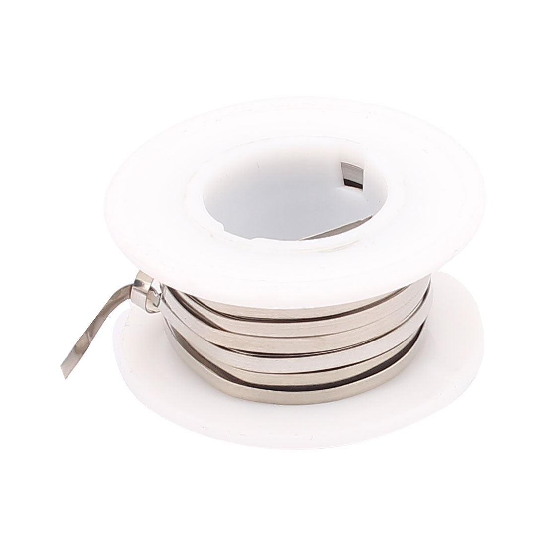 5M 16.4Ft 0.2x2mm Nichrome Flat Heater Wire for Heating Elements