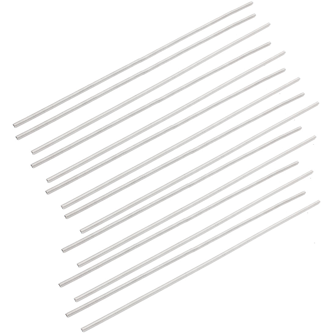 15PCS 345x4.3mm Forging Pottery Heating Heater Element Wire Coil 800W AC 220V