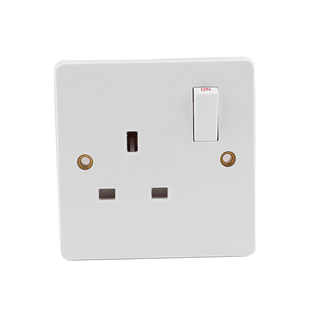 AC 250V 13A Socket Mains Power Wall Plate Panel Switch Outlet