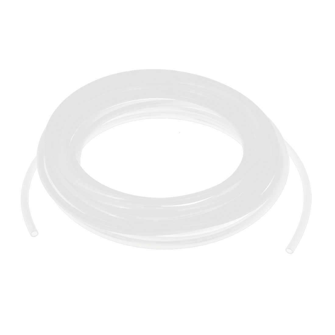 7.5 Meter 6mm x 4mm White Polyurethane Flexible Air Tube PU Tubing Pneumatic Pipe Hose