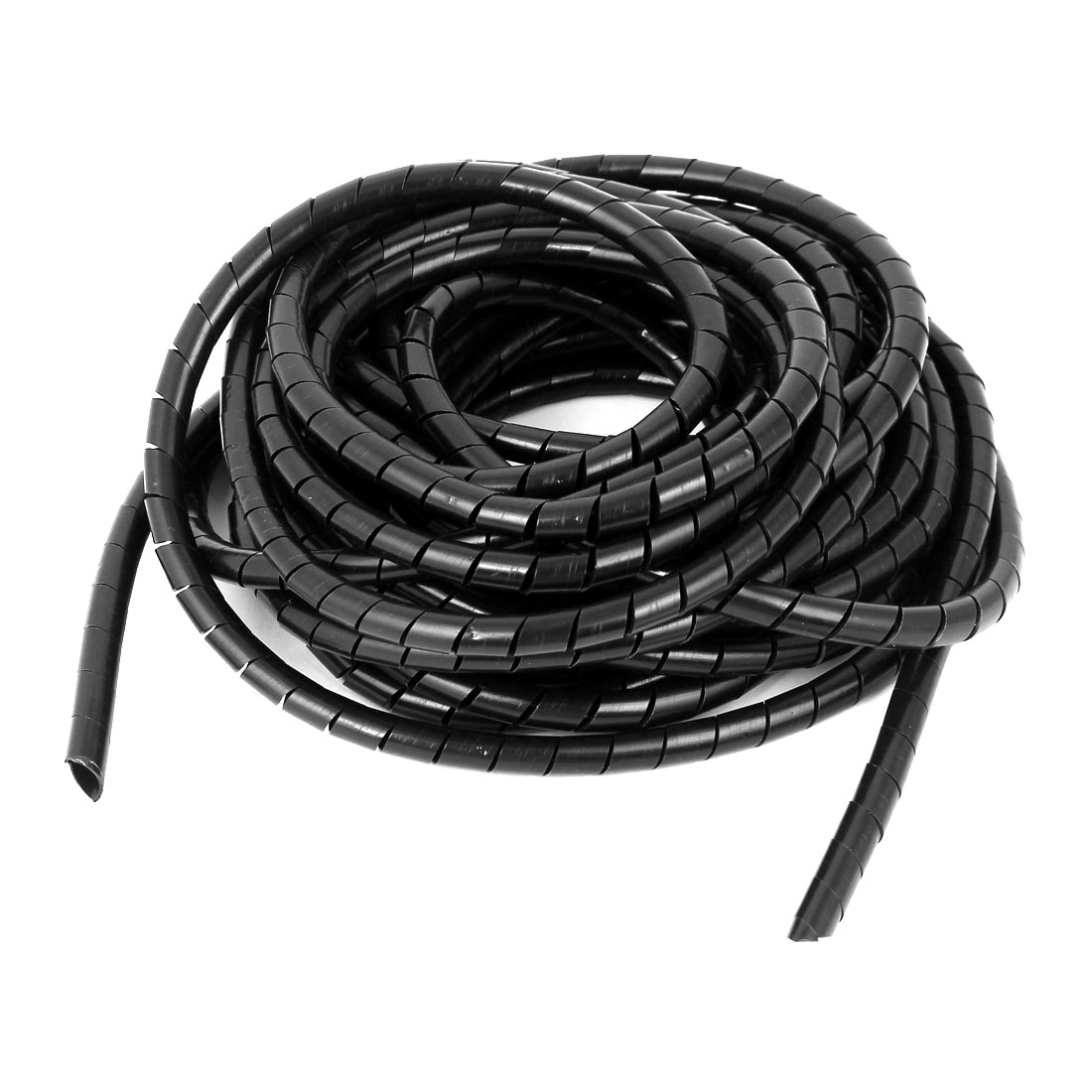 8mm Cable Wire Tidy Spiral Wrapping Band PC Cinema TV Management Organizer 8 Meters