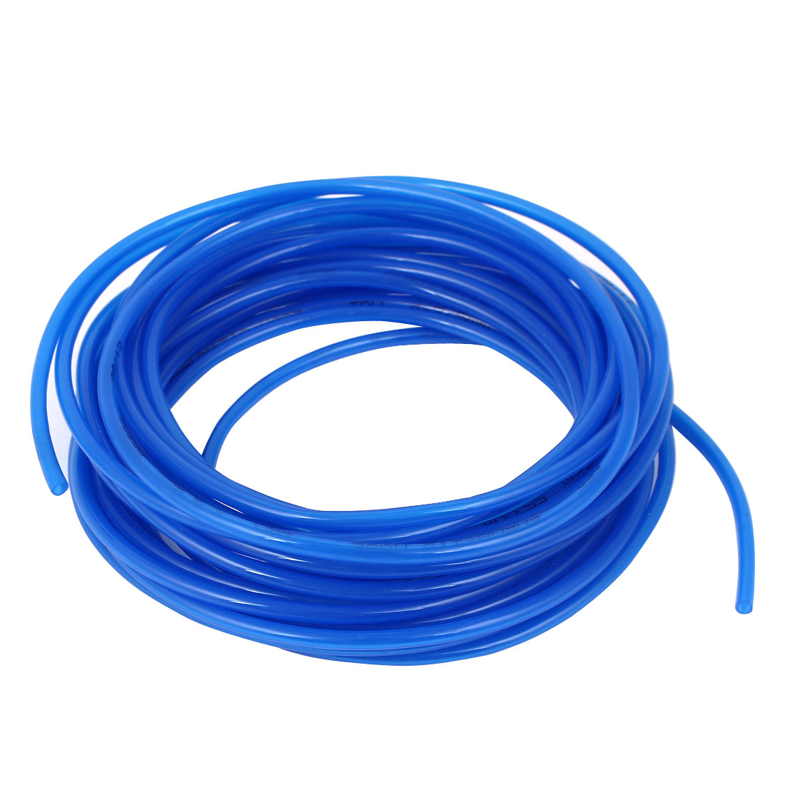 7.5 Meter Long 4mm x 2.5mm Blue Polyurethane Flexible Air Tube PU Tubing Pneumatic Pipe Hose