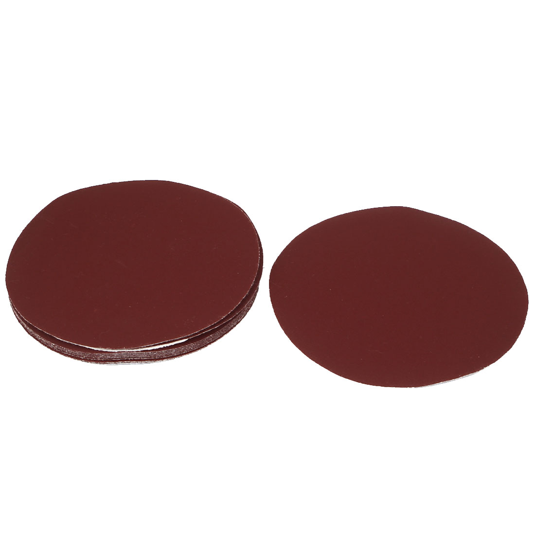 "6"" Round Hook and Loop Fastener Polishing Sanding Sandpaper Disc 320 Grit 10 Pcs"