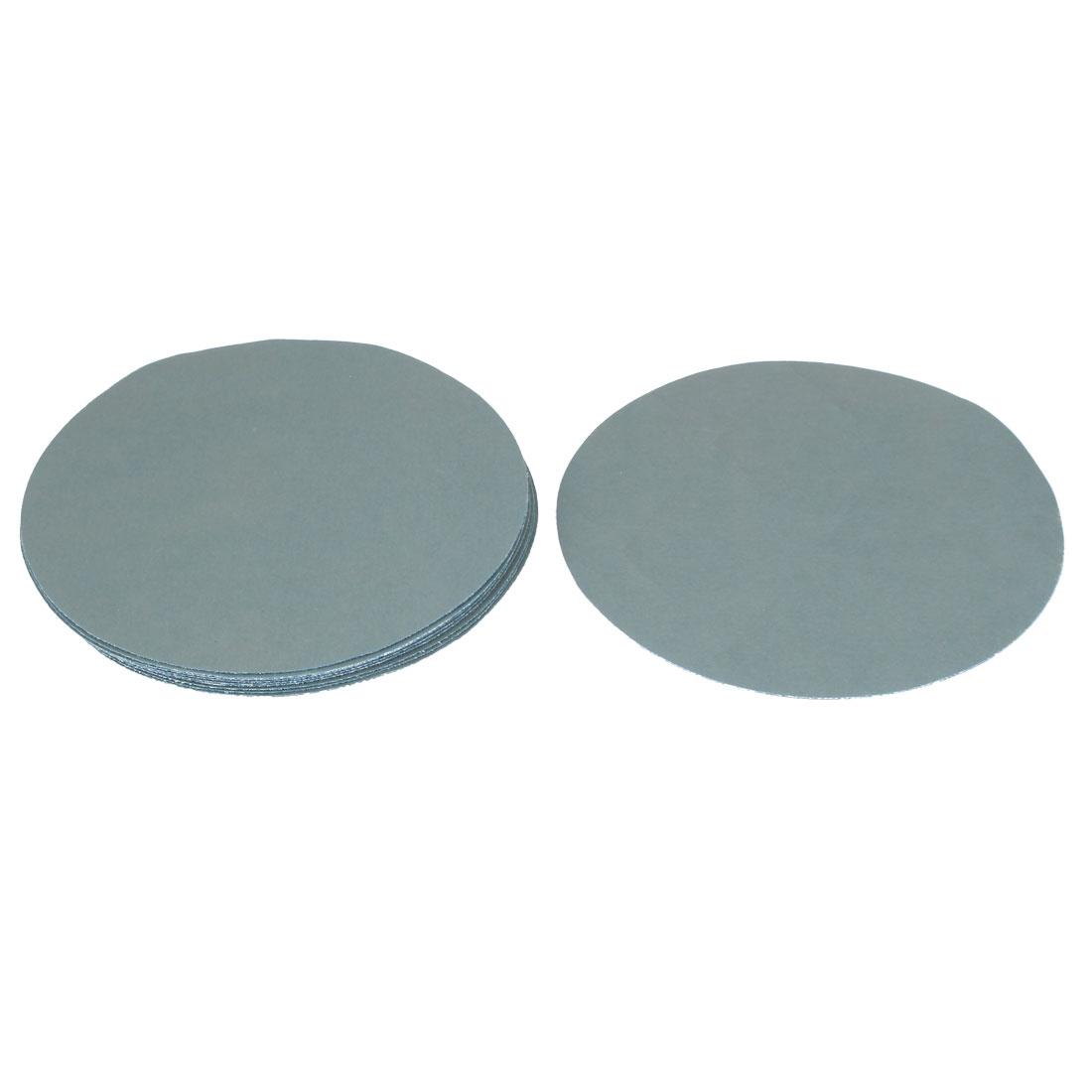 "6"" Dia Wet Dry Silicon Carbide 3000 Grit Polishing Sand Paper 10pcs"