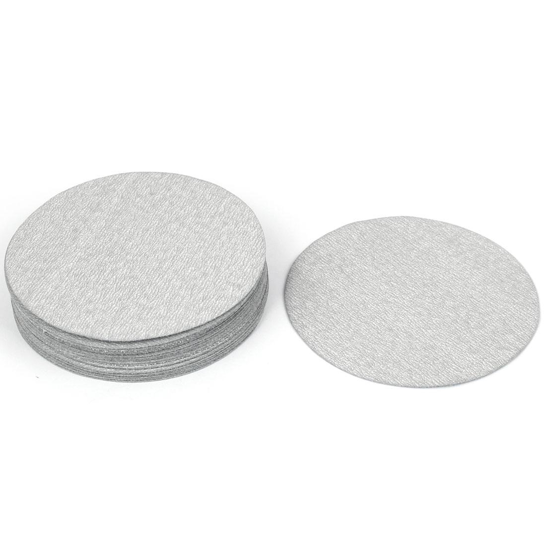 "Grinding Tool 1000 Grit Sanding Disc Flocking Sandpaper 5"" Dia 20pcs"