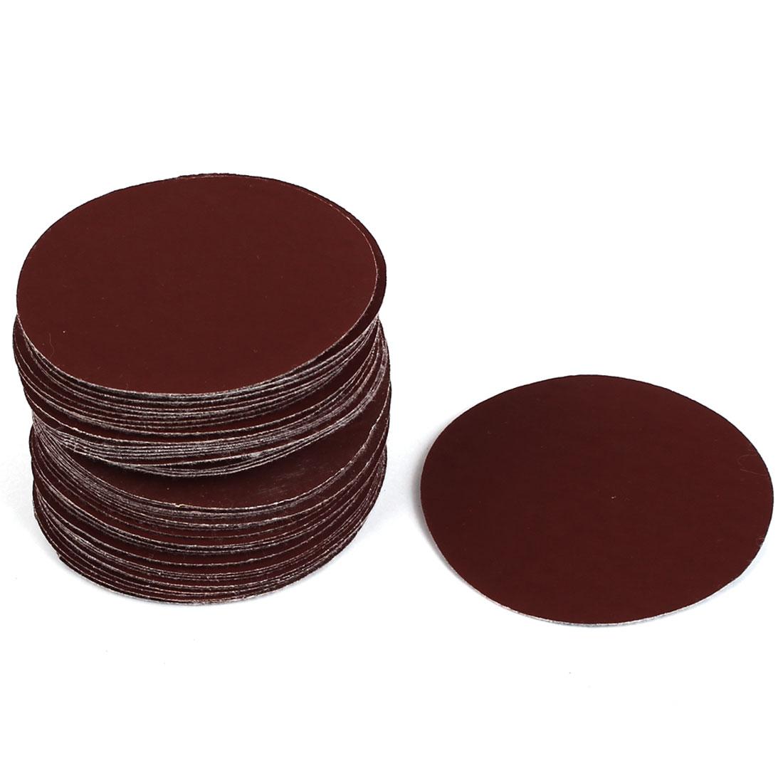 "Grinding Polishing Sanding Disc Flocking Sandpaper 1200 Grit 3"" Dia 50pcs"