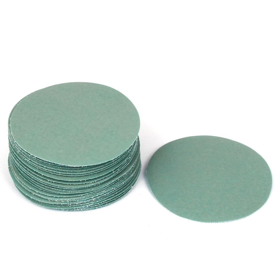 "4""Dia Wet Dry Silicon Carbide 7000 Grit Polishing Sand Paper 50pcs"