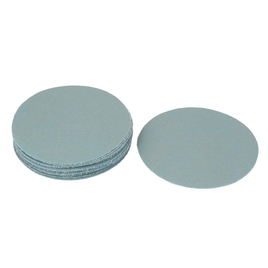 "5"" Dia Silicone Carbide Sanding Sandpaper Sheet Disc 7000 Grit 20 Pcs"