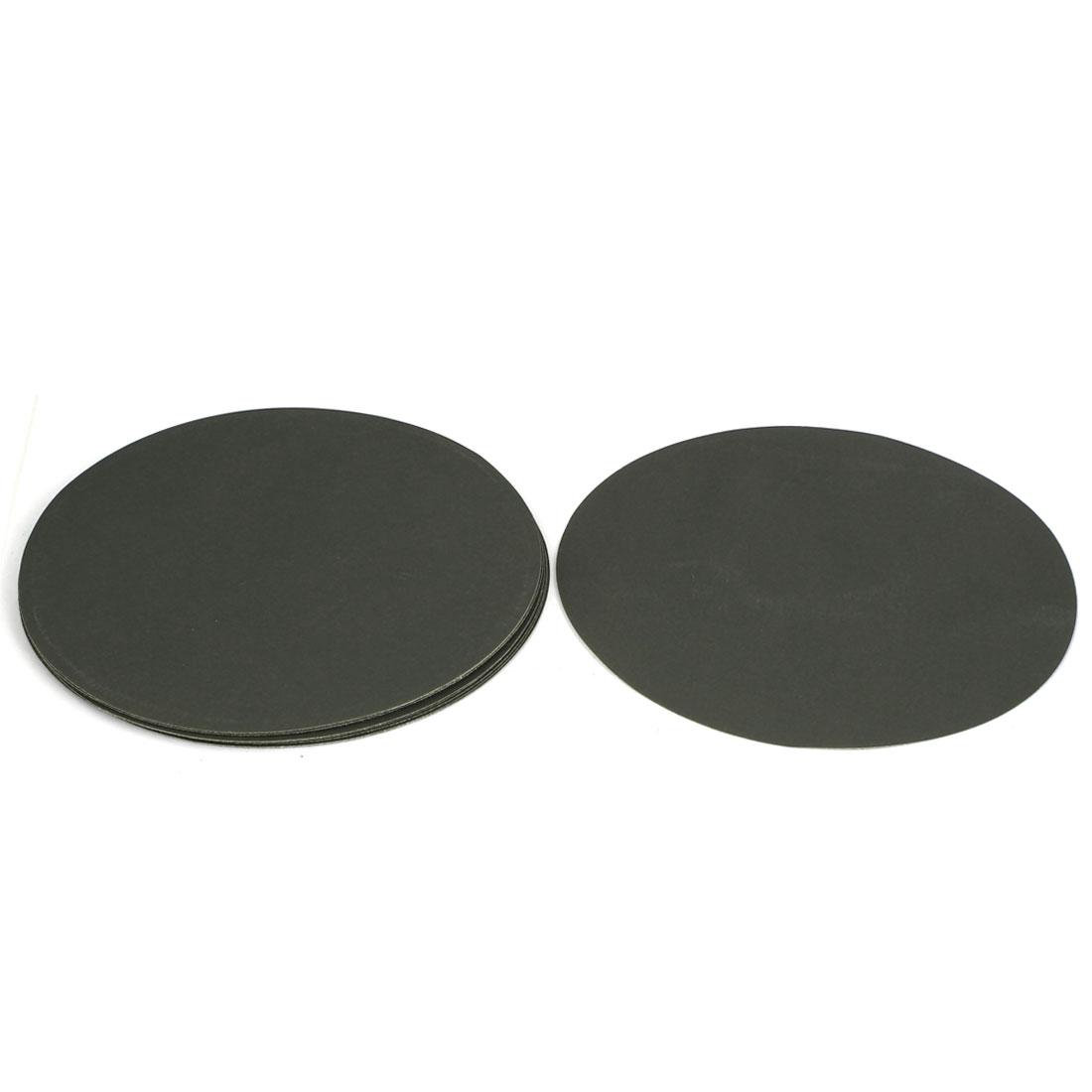 "8"" Dia Wet Dry Silicone Carbide 2000 Grit Polishing Sand Paper 10pcs"